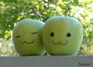 happy apples