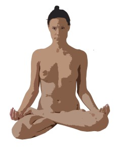 meditation in the nude